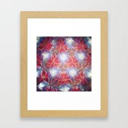 Kelidoscope flower Framed Art Print