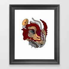 Rhino Dinosaur Framed Art Print
