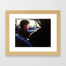 Supernatural: Impala Backseat Framed Art Print