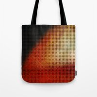 planet Tote Bags featuring Planet by Emma Harckham