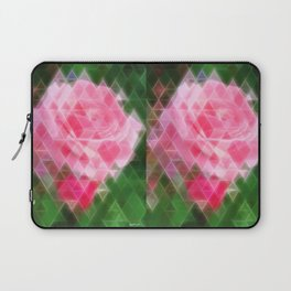 Pink Roses in Anzures 2 Art Triangles 2 Laptop Sleeve