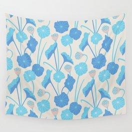 LOTUS POND Pattern Wall Tapestry