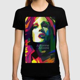 Julianne Moore Pop Art WPAP  T-shirt