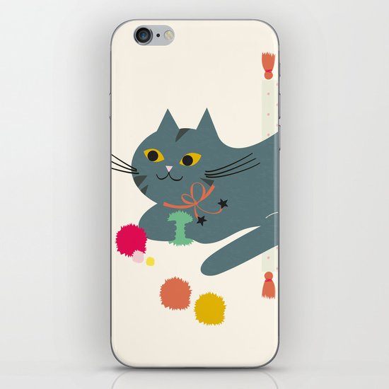 Cosy Cat iPhone & iPod Skin