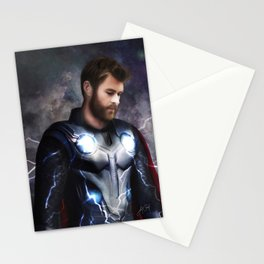 God of Thunder (Infinity War) Stationery Cards
