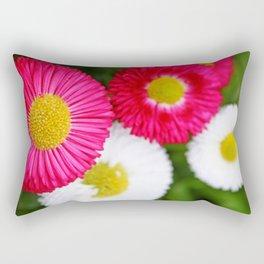 Colourful bellis Rectangular Pillow