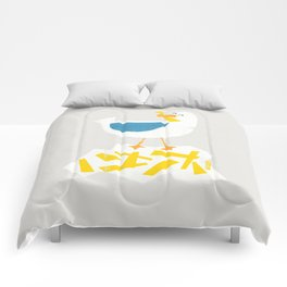 Hungry Seagull Comforters