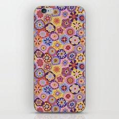 Millefiori-Sunset colorway iPhone & iPod Skin