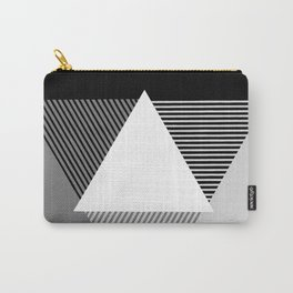 Grey Scale Print, design by Christy Nyboer Carry-All Pouch