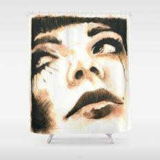 Sorrow  Shower Curtain