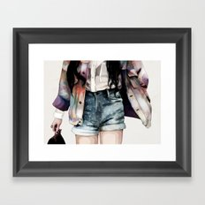 Jacket Framed Art Print