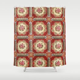 Aubusson 19th Century French Rug Print Shower Curtain