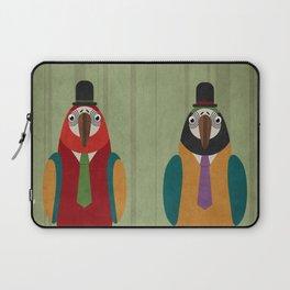 Suited parrots Laptop Sleeve
