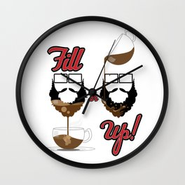 And... Pour! Wall Clock