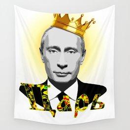 Vladimir Putin the Russian Czar Wall Tapestry
