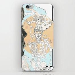 el centro pastel iPhone Skin