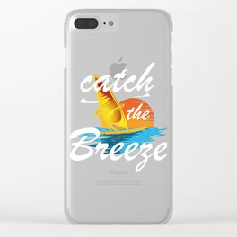 Catch The Breeze Gift Clear iPhone Case