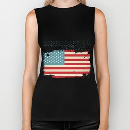 1776 4th of July Independence Day Gift Biker Tank