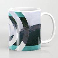 lake Mugs featuring Lake Louise by Fimbis