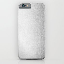 Moonlight Silver iPhone Case