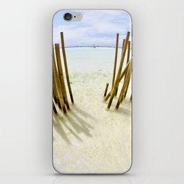 Boracay Sunshine Bamboo iPhone Skin