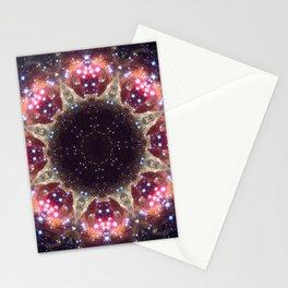 Space Mandala no6 Stationery Cards