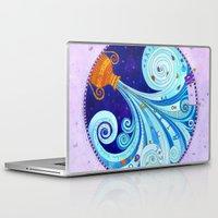 aquarius Laptop & iPad Skins featuring Aquarius by Sandra Nascimento