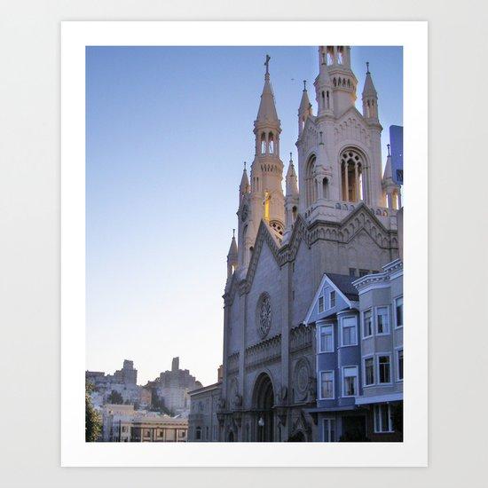 Cathedral I Art Print