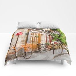 On Ile Saint-Louis Comforters