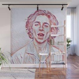 Timothée Chalamet x Sketch Wall Mural
