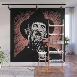 Freddy Krueger  Wall Mural