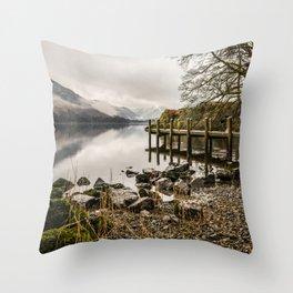 Ullswater Shore Throw Pillow