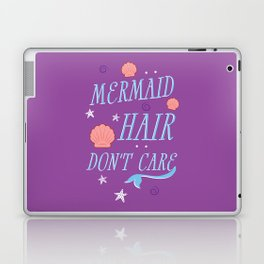 Mermaid Hair Don't Care Laptop & iPad Skin