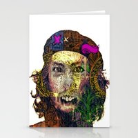 che Stationery Cards featuring Che by JosephusBartin