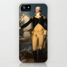 General George Washington at Trenton by John Trumbull (1792) iPhone Case
