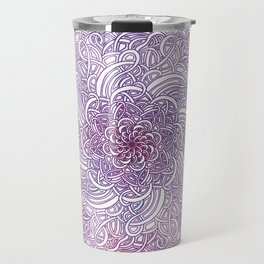 Mandala With A Twist Travel Mug