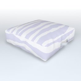 Lavender & White Animal Print Outdoor Floor Cushion