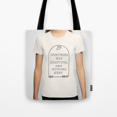 Vonnegut -  Billy Pilgrim Tote Bag