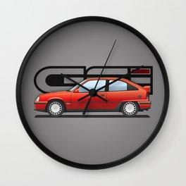 Opel Kadett GSI / Vauxhall Astra / Chevrolet Kadett Wall Clock