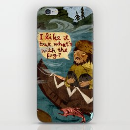 Postcard from Lewis + Clark iPhone Skin