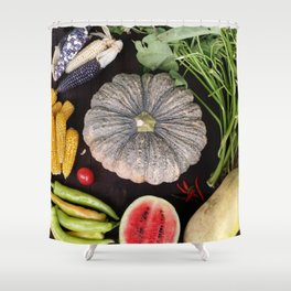 Nature's Wonderful Gift Shower Curtain