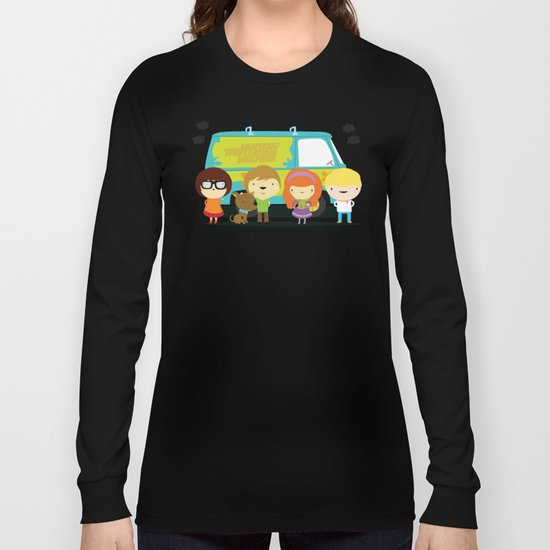 Little scooby characters Long Sleeve T-shirt