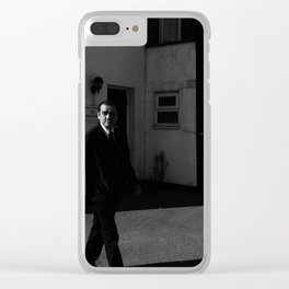 Clapham Portrait Clear iPhone Case