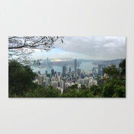 Hong Kong 香港 Canvas Print