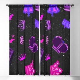 Space Princess Blackout Curtain