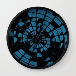 Abstract Dartboard Wall Clock