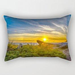 Deception Sunset Rectangular Pillow