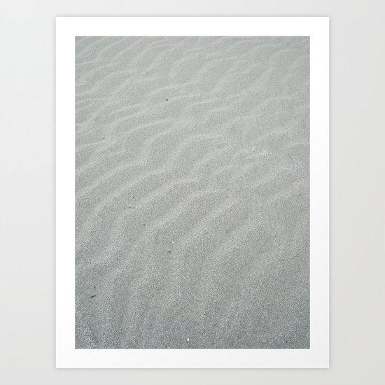 Natural wave patern Art Print