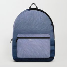Silhouette in the fog Backpack