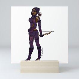 The Femme Fatale: La Flecha Mini Art Print